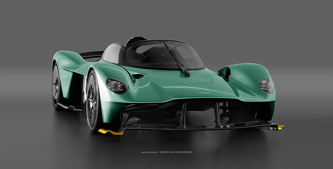 Aston Martin Valkyrie Livery Volante and AMR concepts (41)