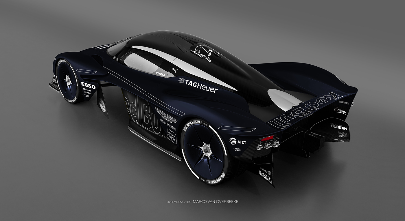 Aston Martin Valkyrie Livery Volante and AMR concepts (42)