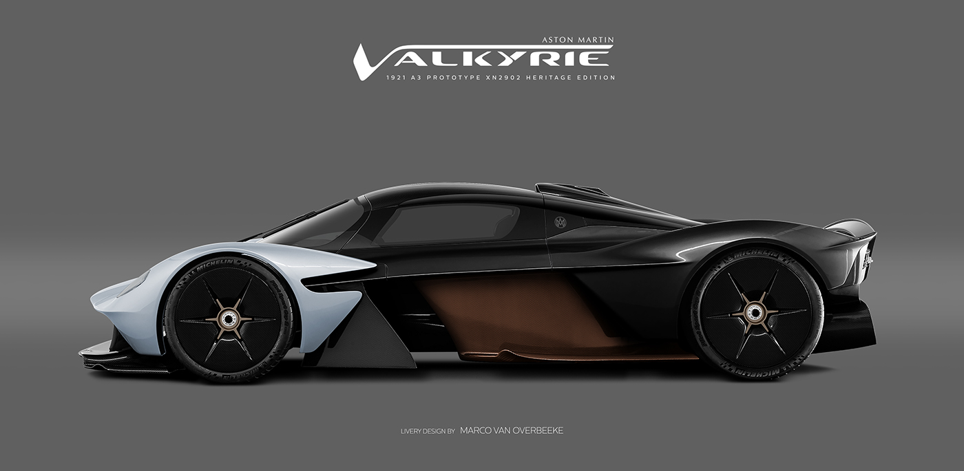 Aston Martin Valkyrie Livery Volante and AMR concepts (43)