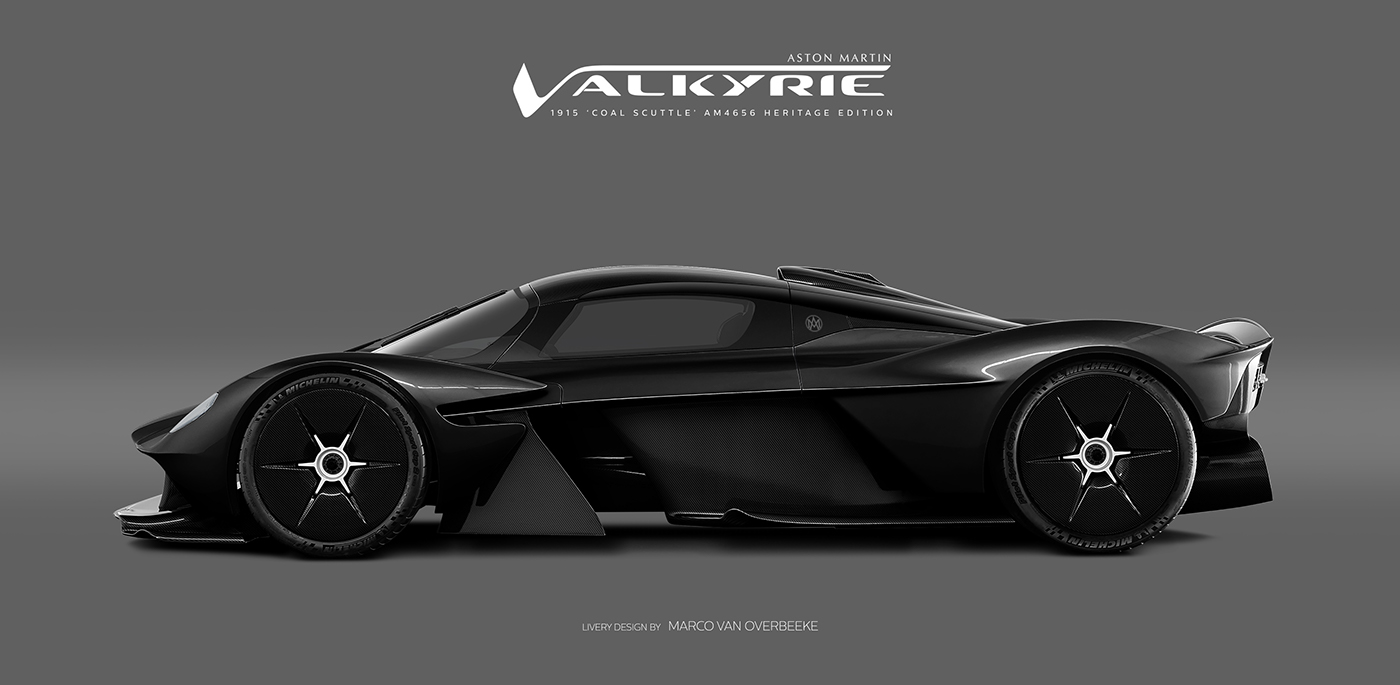 Aston Martin Valkyrie Livery Volante and AMR concepts (44)