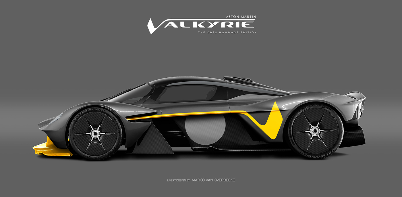 Aston Martin Valkyrie Livery Volante and AMR concepts (45)