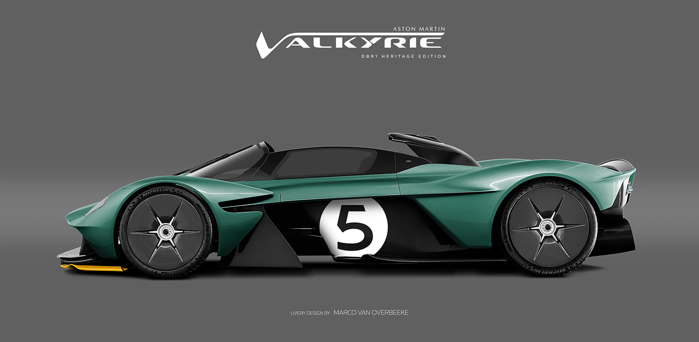 Aston Martin Valkyrie Livery Volante and AMR concepts (46)