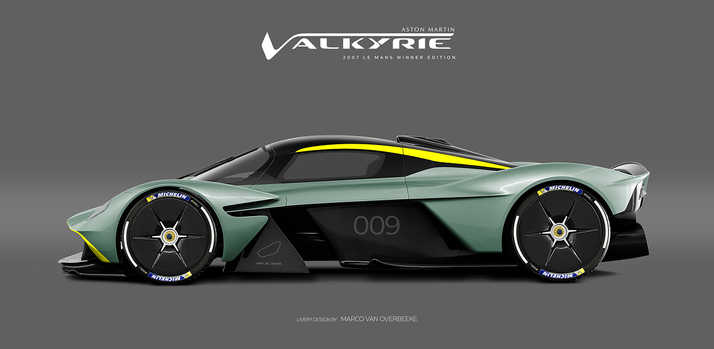 Aston Martin Valkyrie Livery Volante and AMR concepts (47)