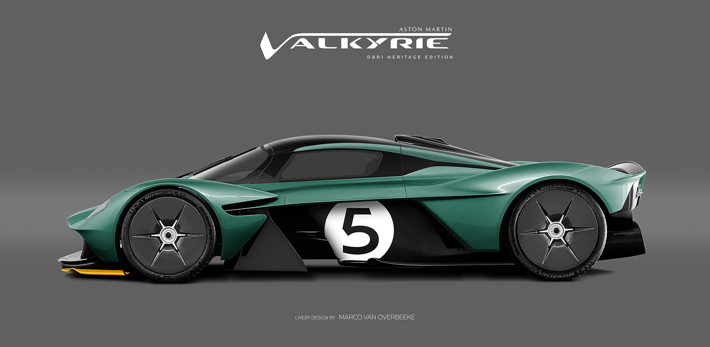 Aston Martin Valkyrie Livery Volante and AMR concepts (48)