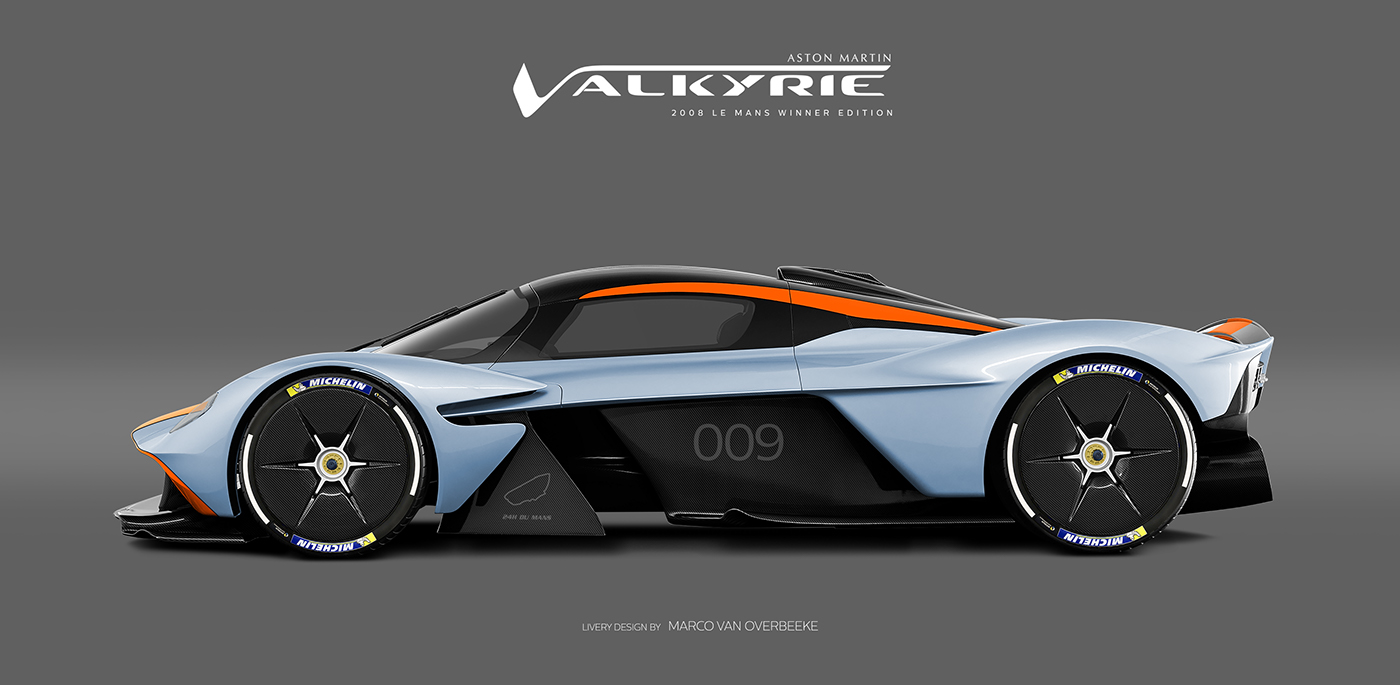 Aston Martin Valkyrie Livery Volante and AMR concepts (5)