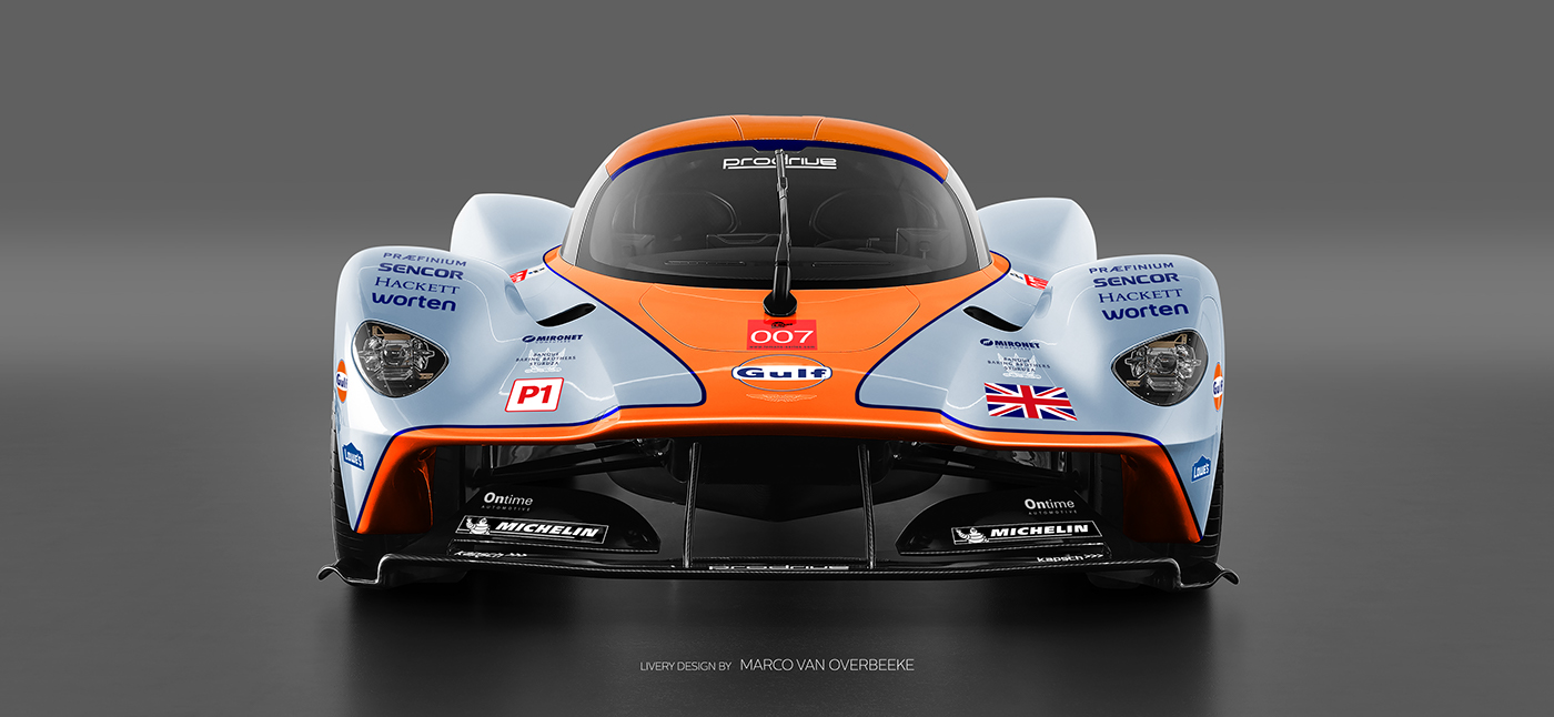 Aston Martin Valkyrie Livery Volante and AMR concepts (50)