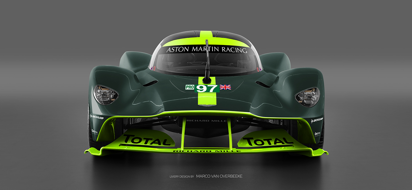 Aston Martin Valkyrie Livery Volante and AMR concepts (51)