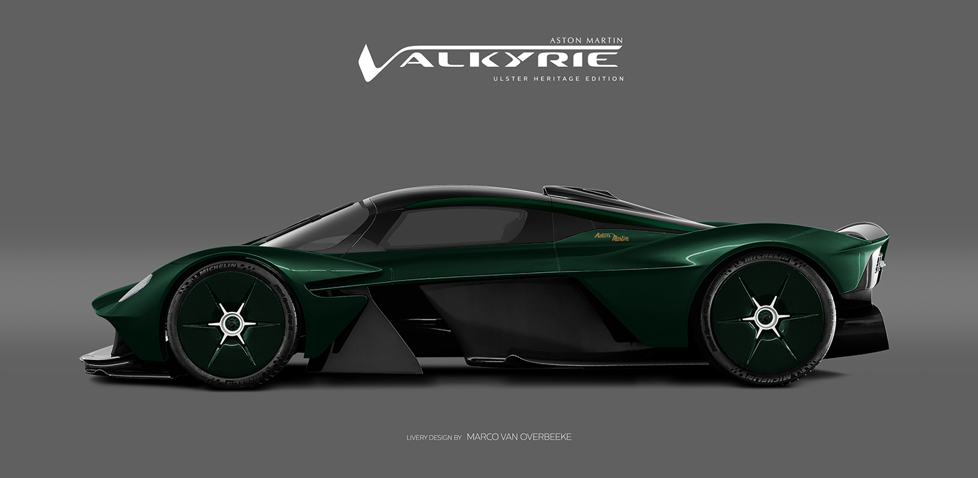 Aston Martin Valkyrie Livery Volante and AMR concepts (52)