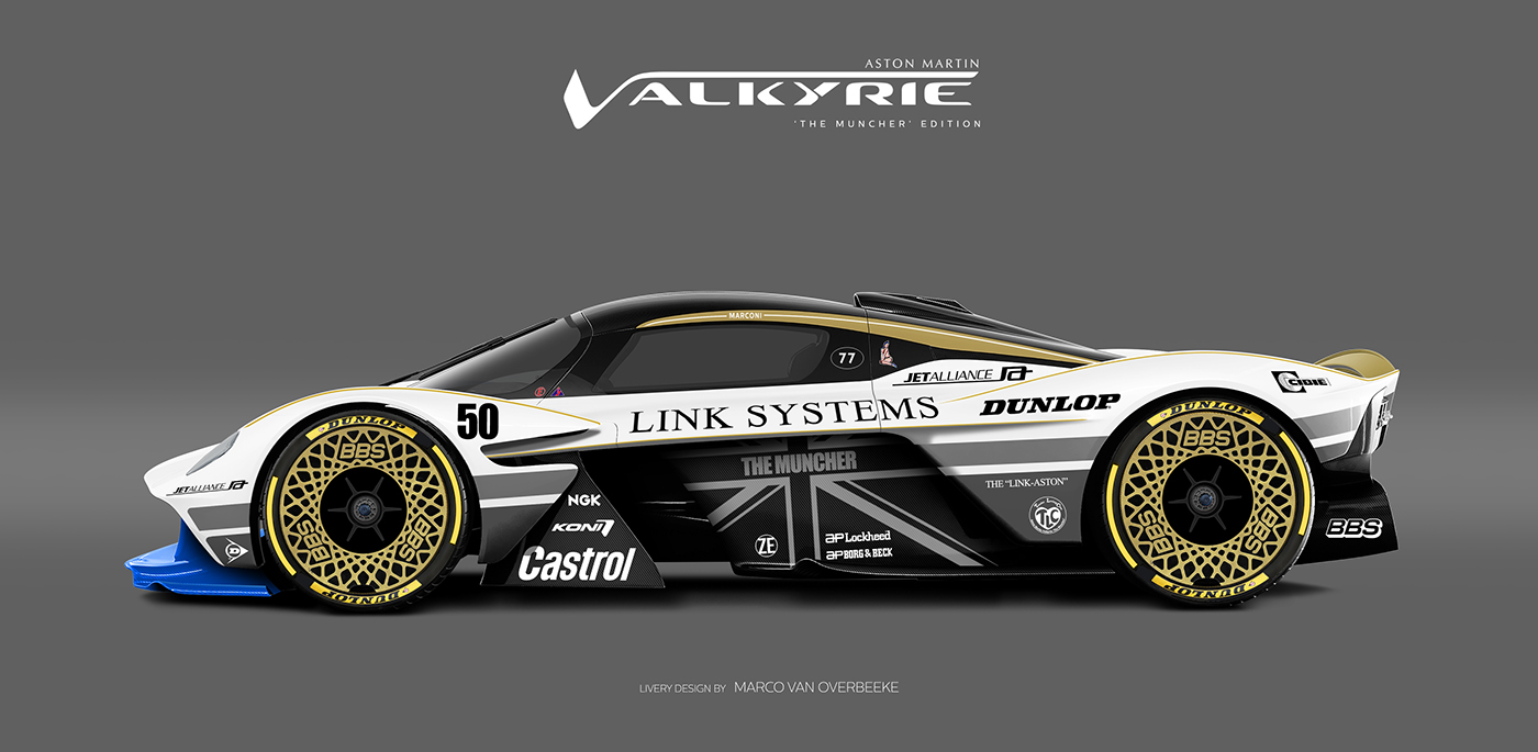 Aston Martin Valkyrie Livery Volante and AMR concepts (53)