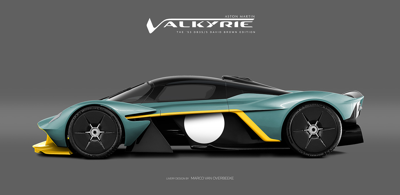 Aston Martin Valkyrie Livery Volante and AMR concepts (56)