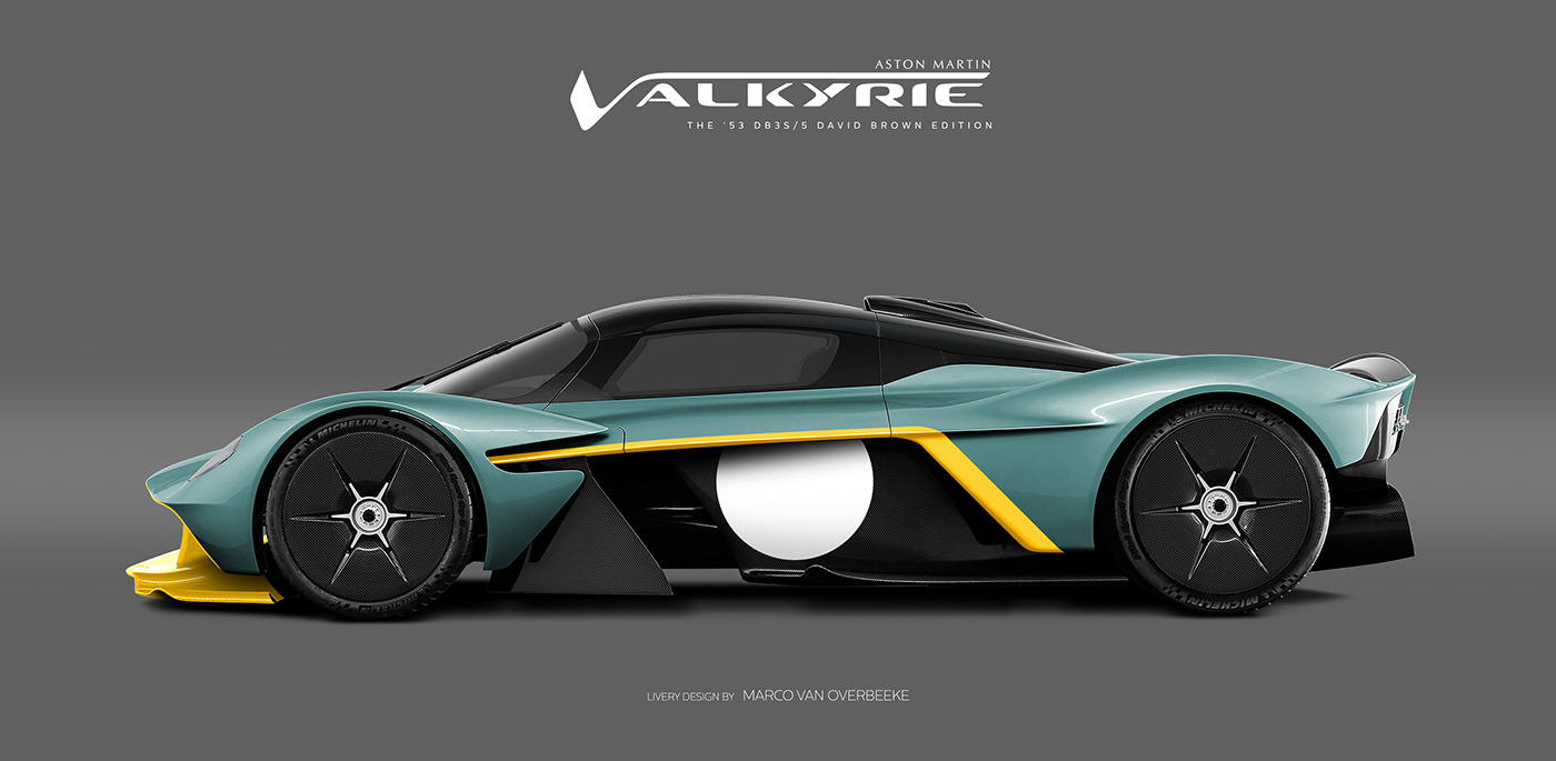 Aston Martin Valkyrie Livery Volante and AMR concepts (57)
