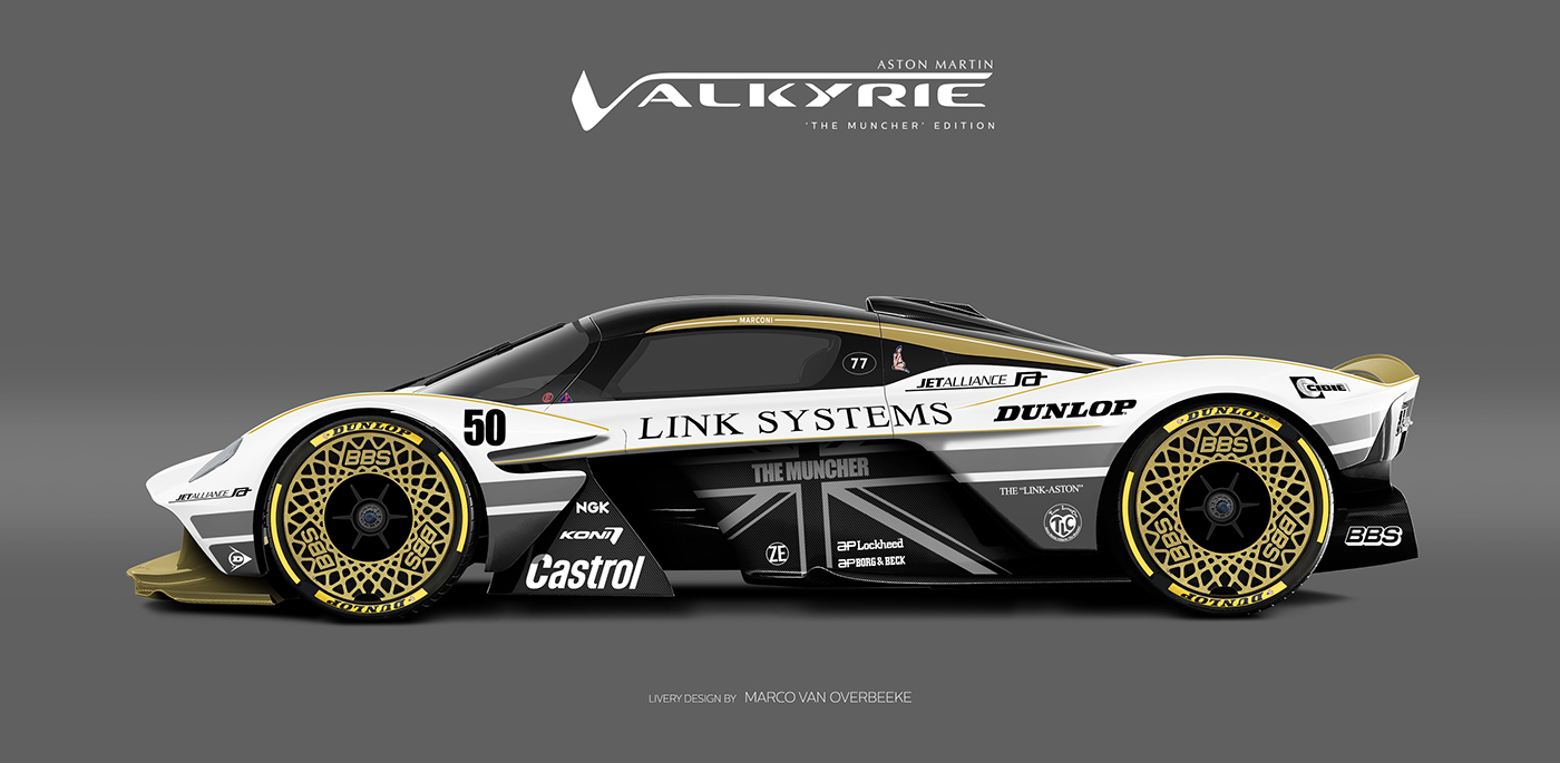 Aston Martin Valkyrie Livery Volante and AMR concepts (58)
