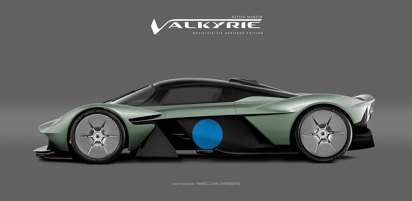 Aston Martin Valkyrie Livery Volante and AMR concepts (59)