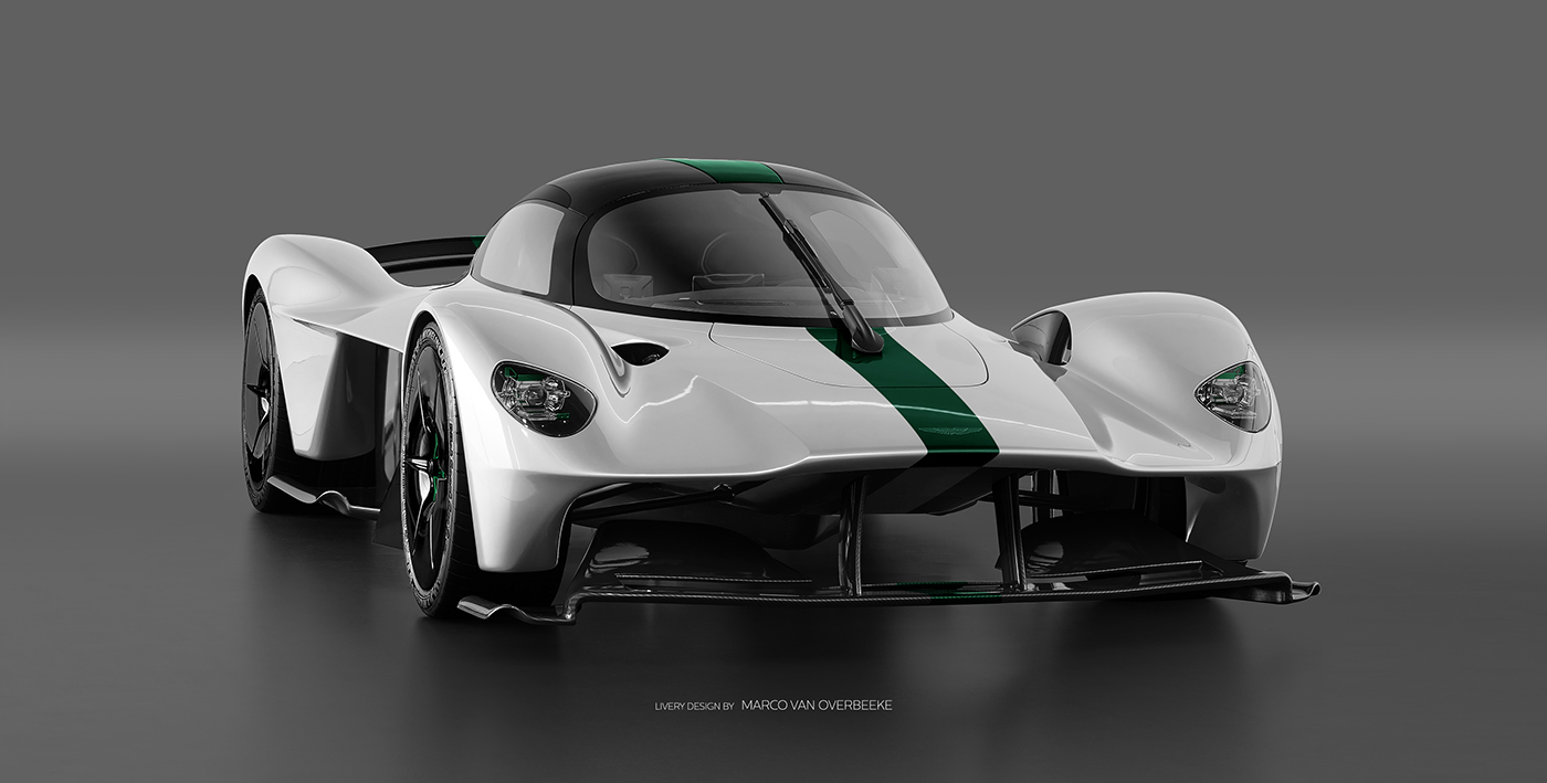 Aston Martin Valkyrie Livery Volante and AMR concepts (6)