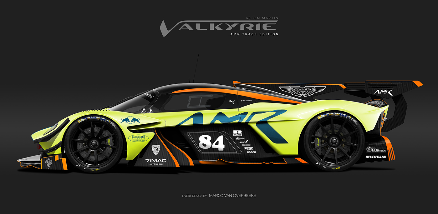 Aston Martin Valkyrie Livery Volante and AMR concepts (60)