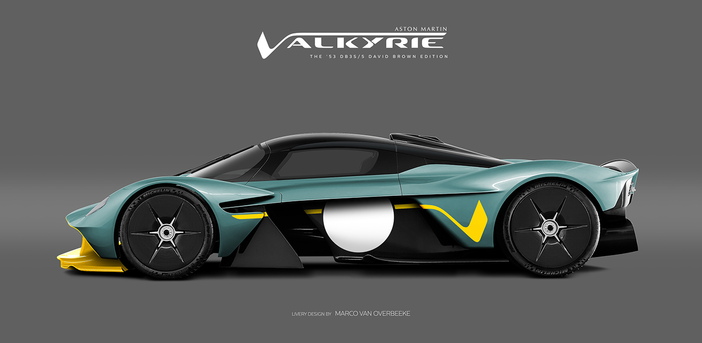 Aston Martin Valkyrie Livery Volante and AMR concepts (61)