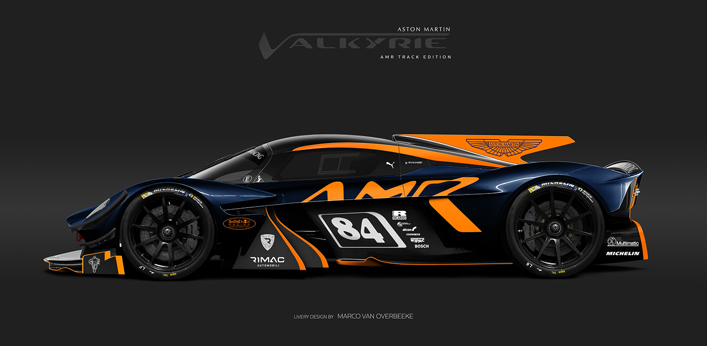 Aston Martin Valkyrie Livery Volante and AMR concepts (62)