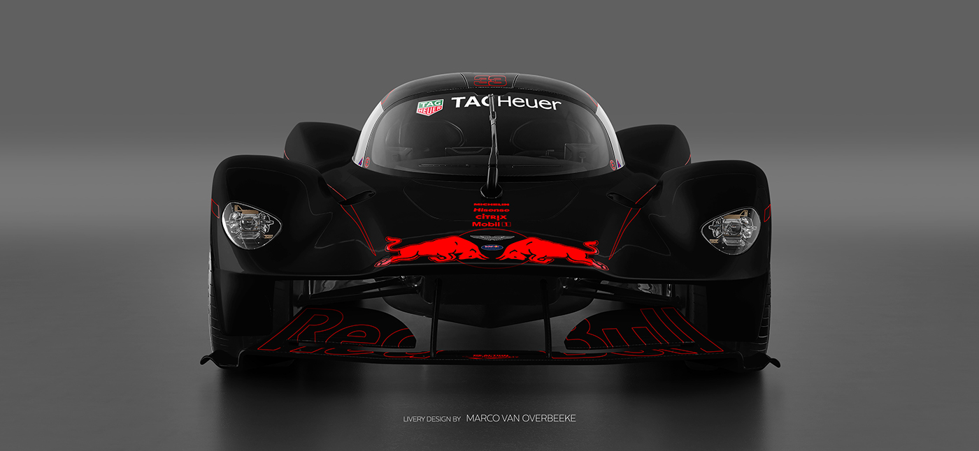 Aston Martin Valkyrie Livery Volante and AMR concepts (65)