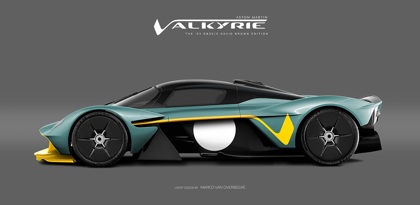 Aston Martin Valkyrie Livery Volante and AMR concepts (66)