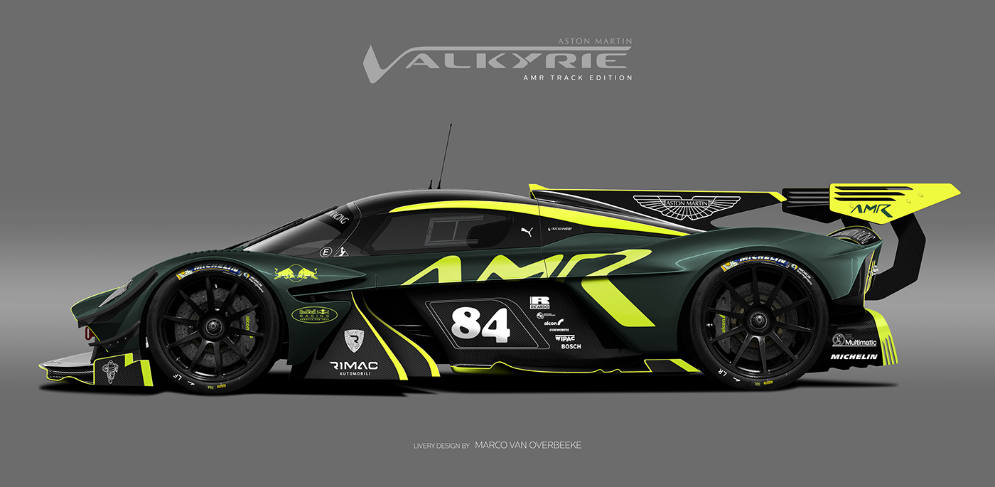 Aston Martin Valkyrie Livery Volante and AMR concepts (67)