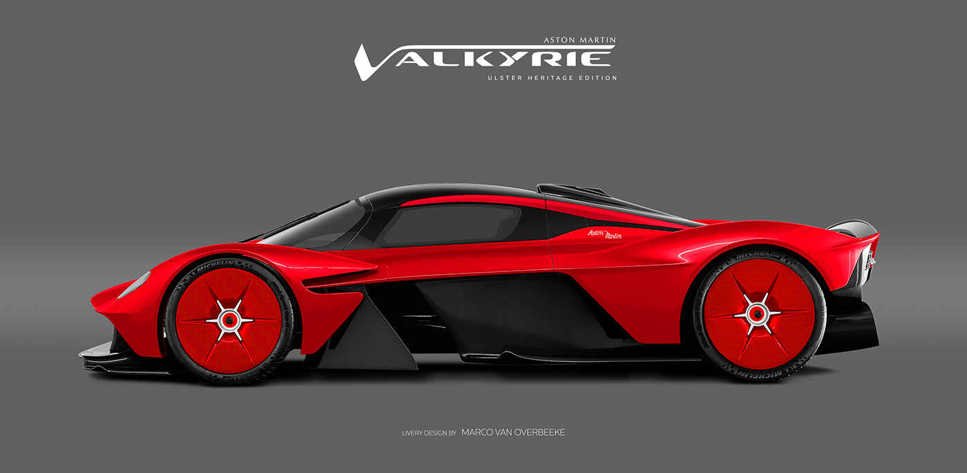 Aston Martin Valkyrie Livery Volante and AMR concepts (68)