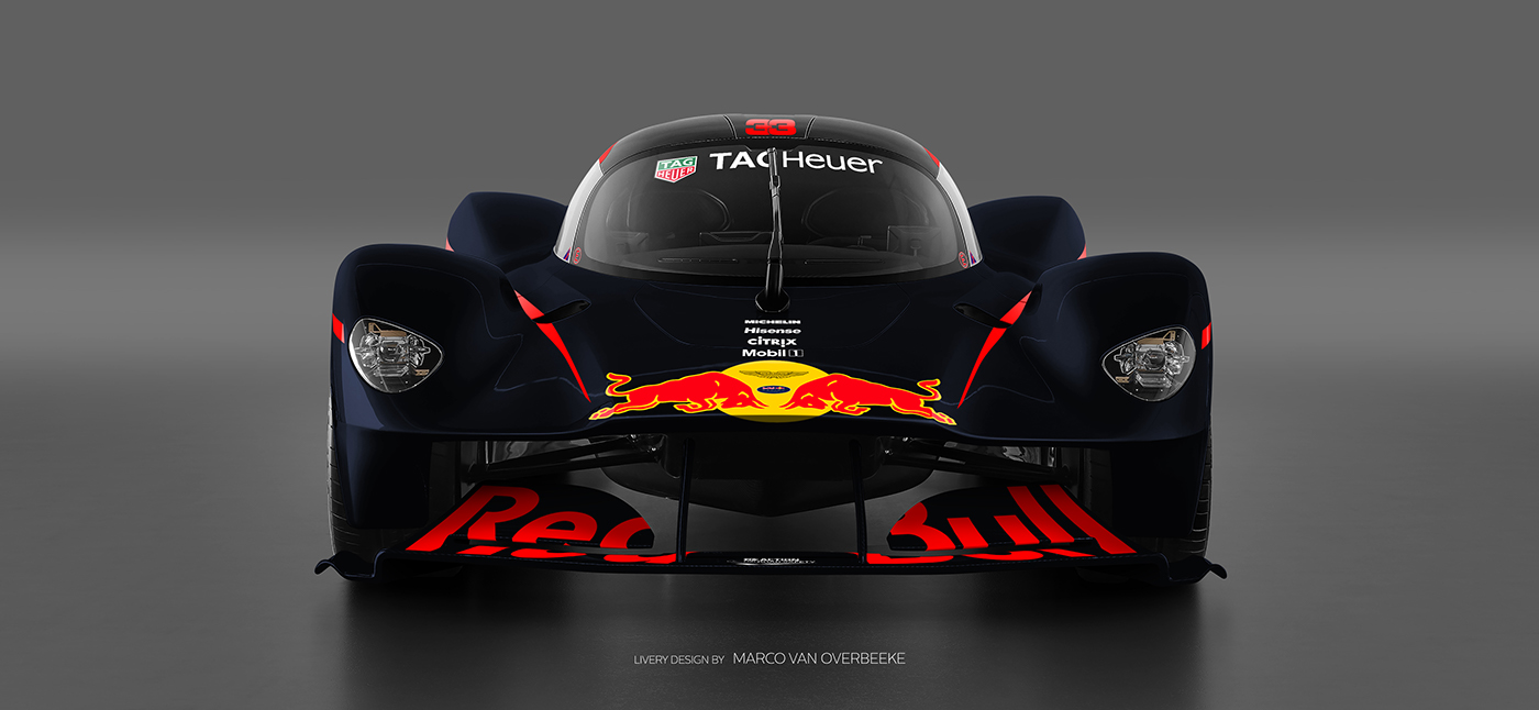 Aston Martin Valkyrie Livery Volante and AMR concepts (69)