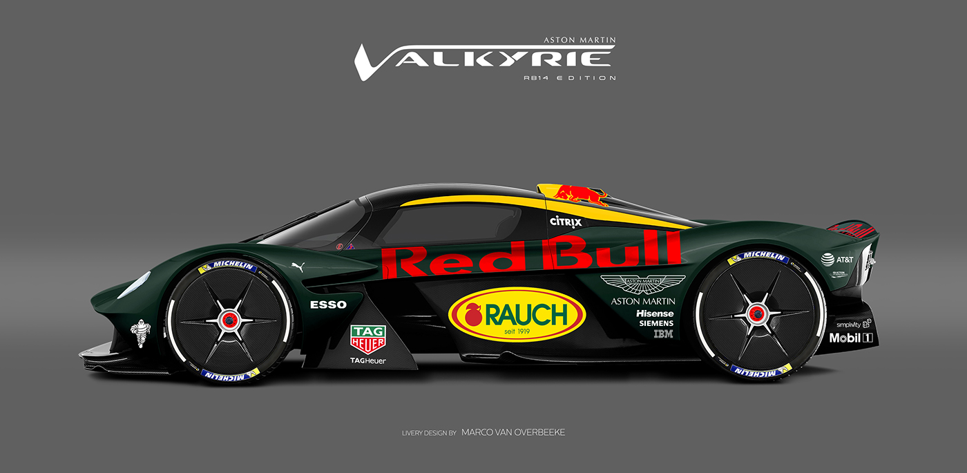 Aston Martin Valkyrie Livery Volante and AMR concepts (72)