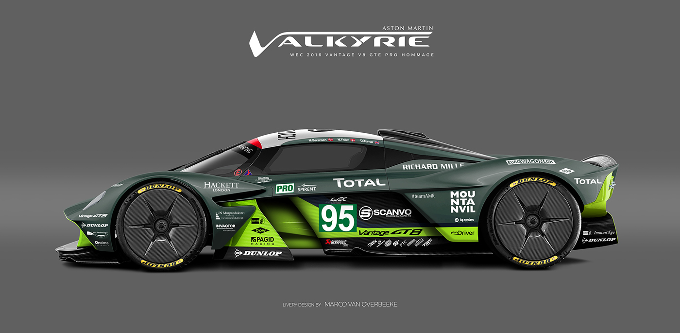 Aston Martin Valkyrie Livery Volante and AMR concepts (8)