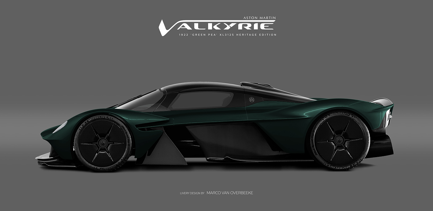 Aston Martin Valkyrie Livery Volante and AMR concepts (9)