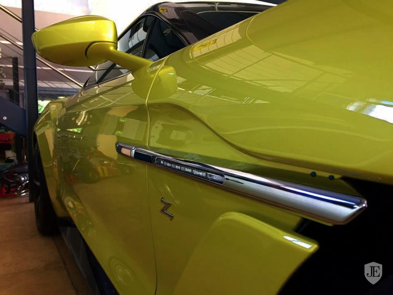 Aston Martin Vanquish Zagato yellow (13)