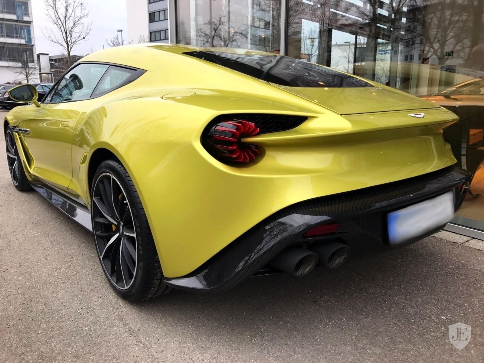 Aston Martin Vanquish Zagato yellow (2)