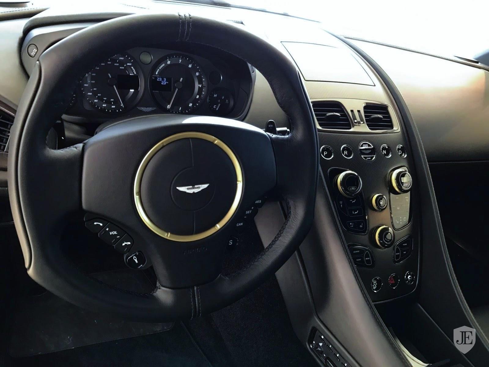 Aston Martin Vanquish Zagato yellow (4)