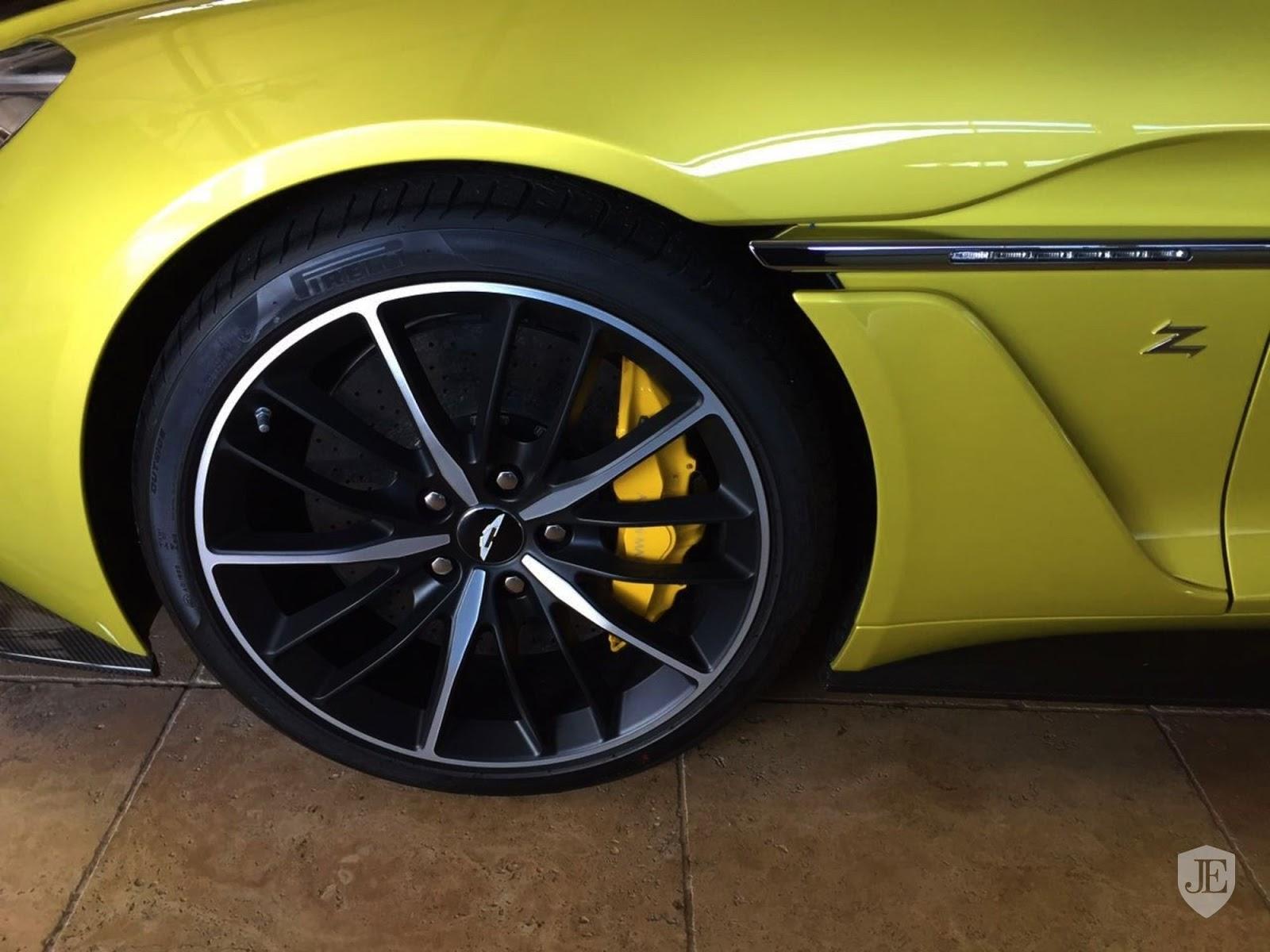 Aston Martin Vanquish Zagato yellow (9)