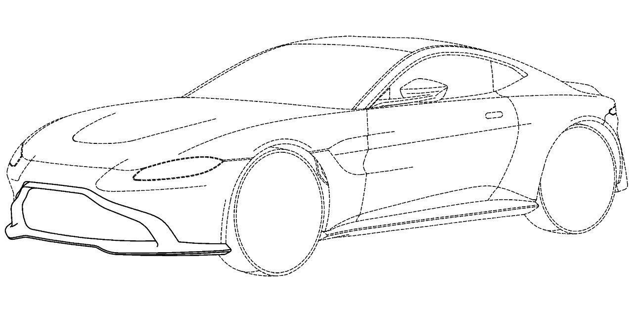 Aston-Martin-Vantage-2018-patent-01