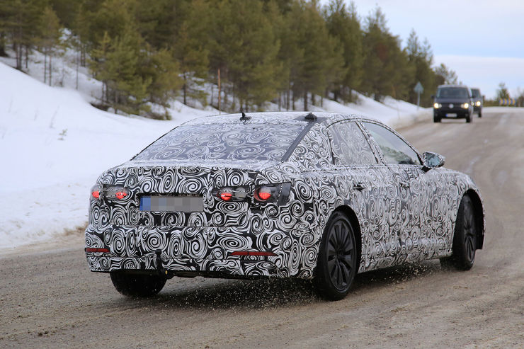 Audi A6 2018 Spy photos (11)