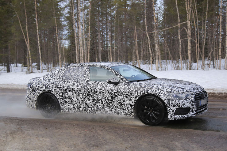 Audi A6 2018 Spy photos (15)
