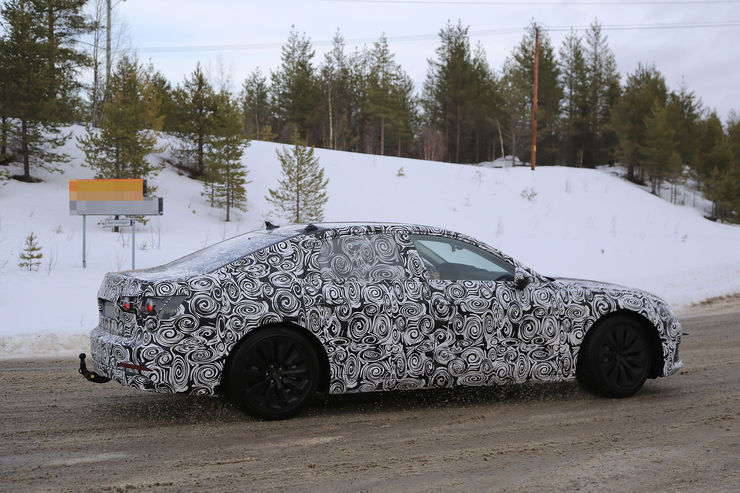 Audi A6 2018 Spy photos (8)