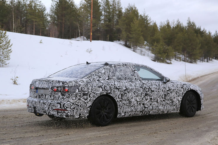 Audi A6 2018 Spy photos (9)