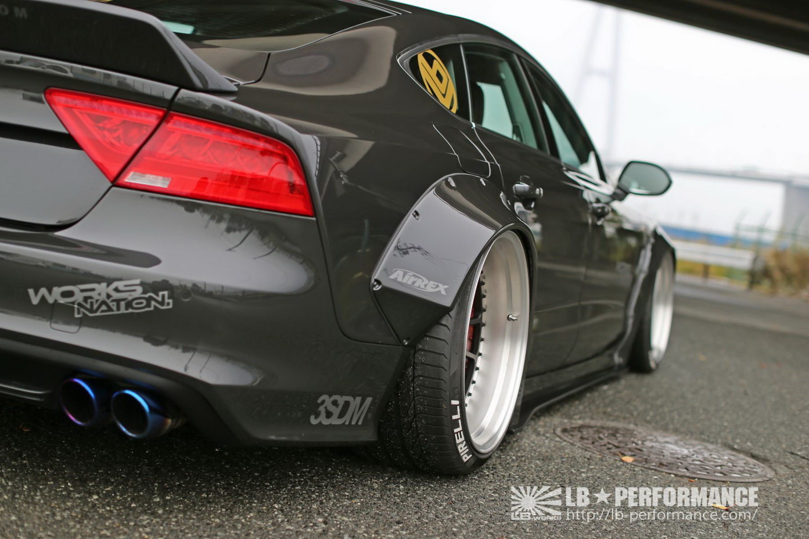 Audi A7 by Liberty Walk (6)
