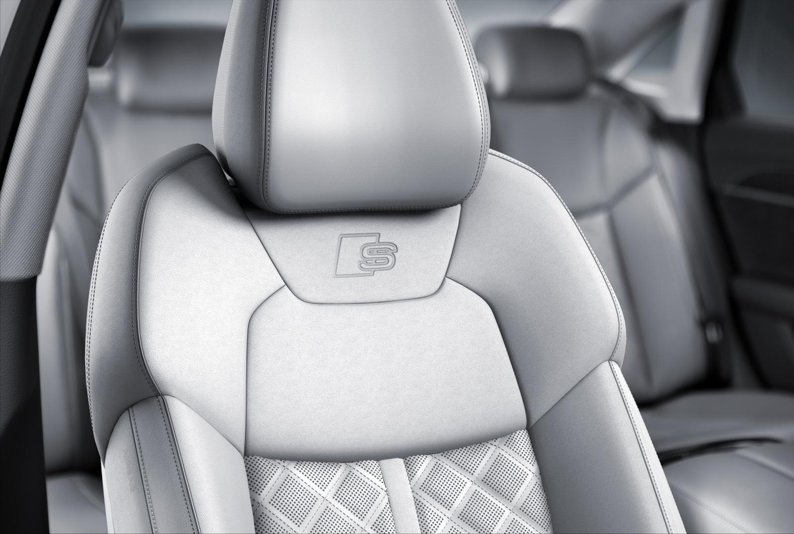 Audi A8 sport seat