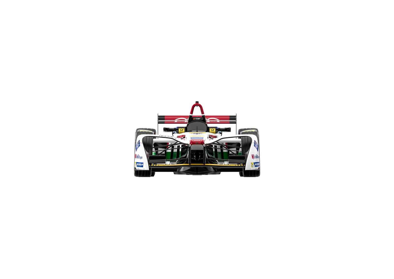 Audi e-tron FE04 #66 (Audi Sport ABT Schaeffler), Daniel Abt