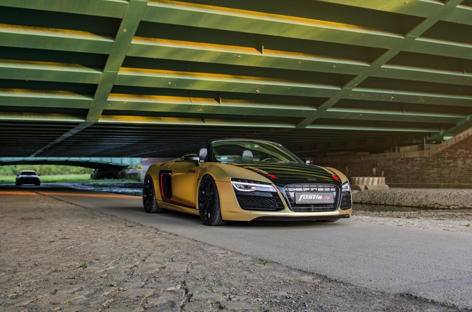 Audi R8 V10 Spyder by Fostla (8)