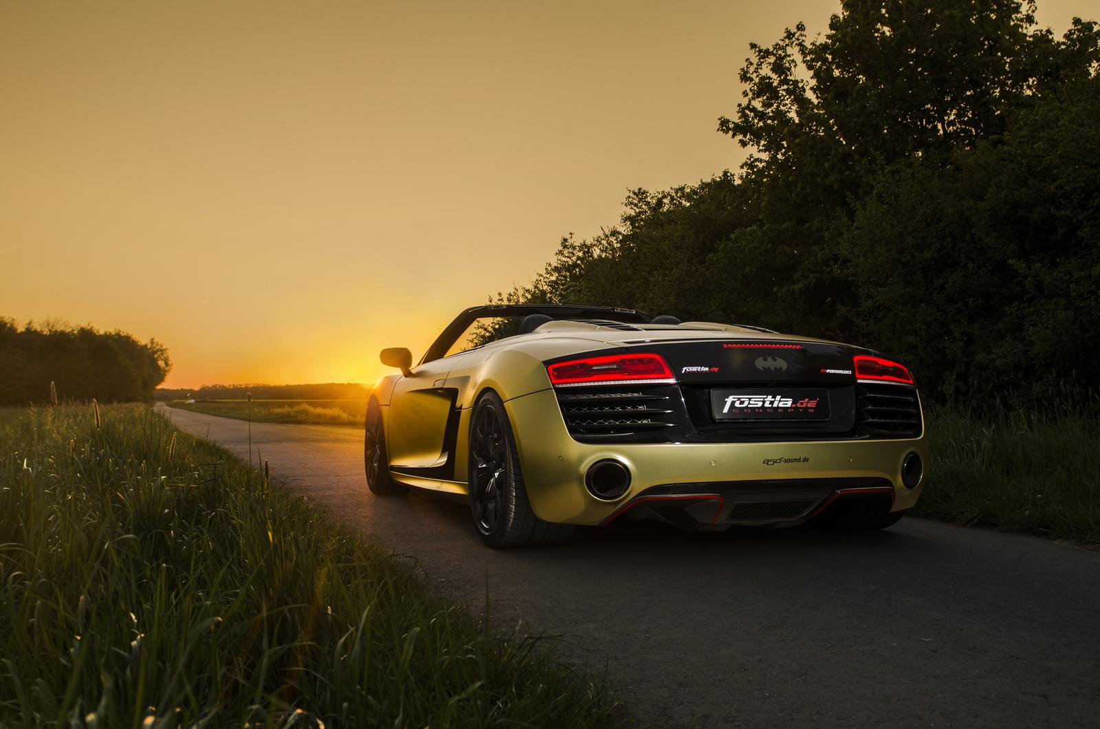 Audi R8 V10 Spyder by Fostla (9)