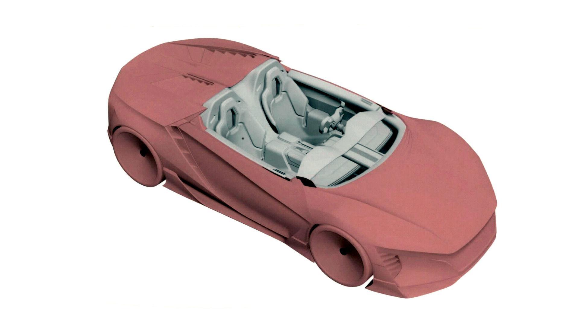 Baby Honda NSX (1)
