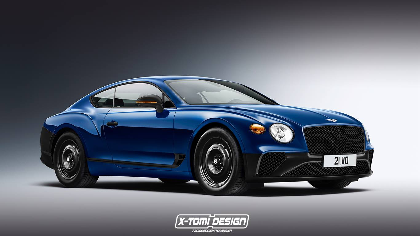 Bentley Continental GT versions (1)