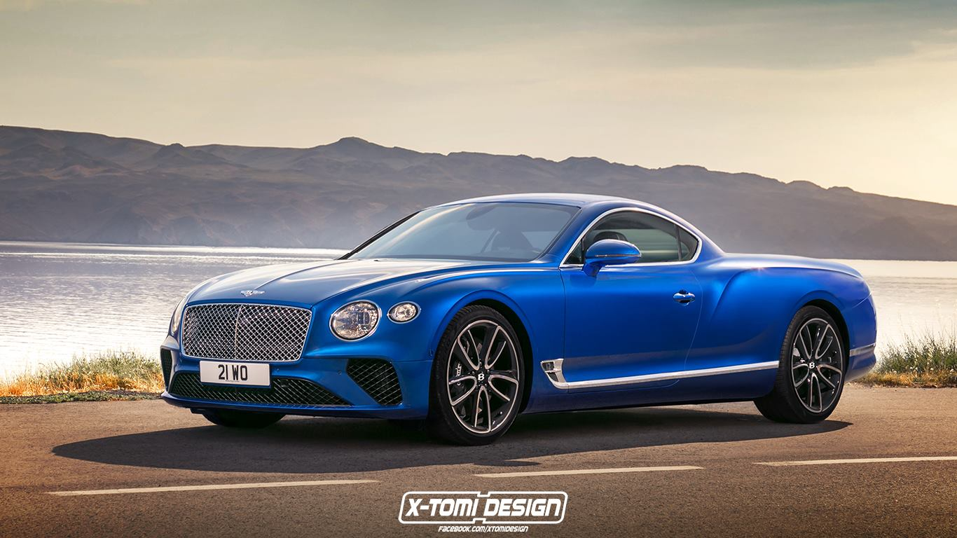 Bentley Continental GT versions (2)