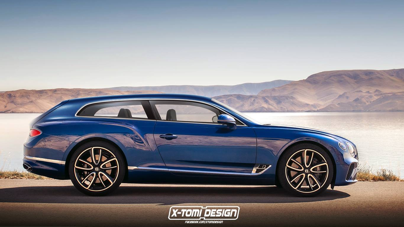 Bentley Continental GT versions (3)