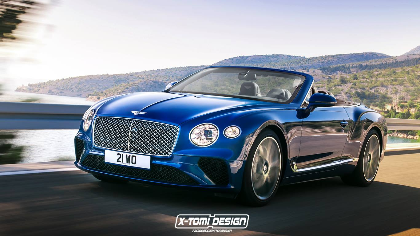 Bentley Continental GT versions (4)