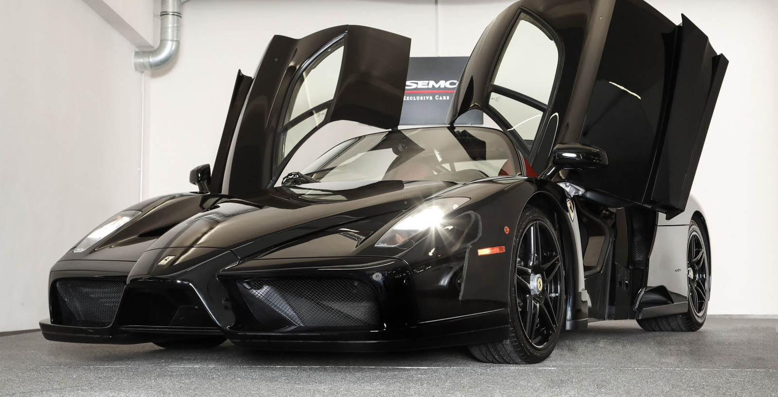 Black Ferrari Enzo for sale (3)