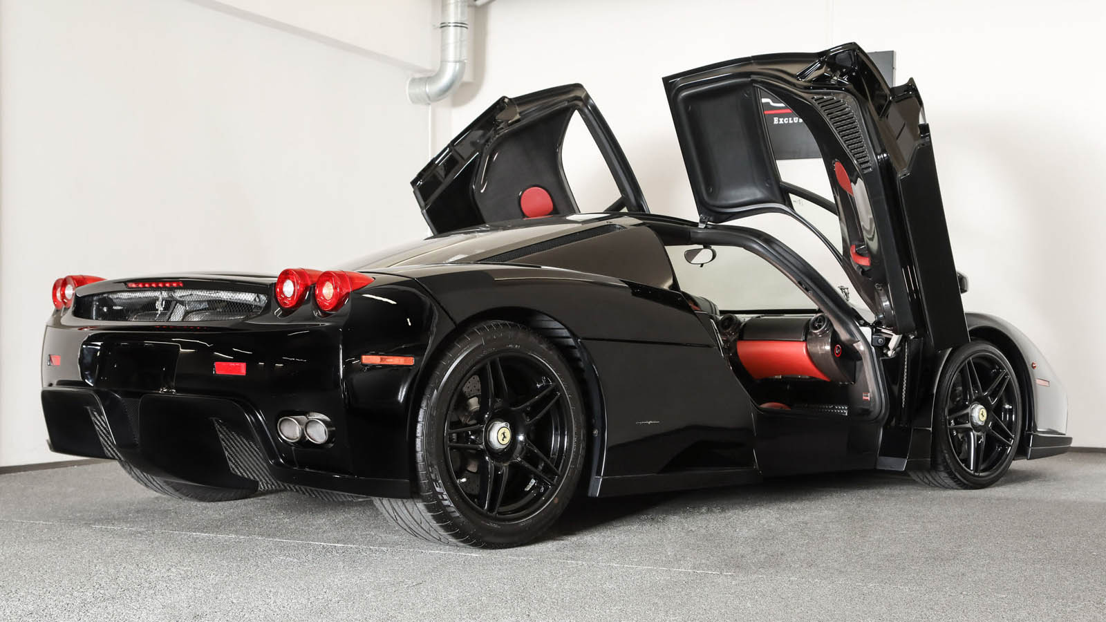 Black Ferrari Enzo for sale (5)